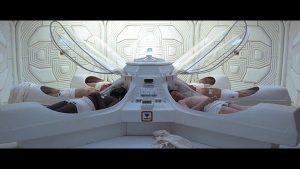Sleep pods from Alien  (Youtube screenshot)