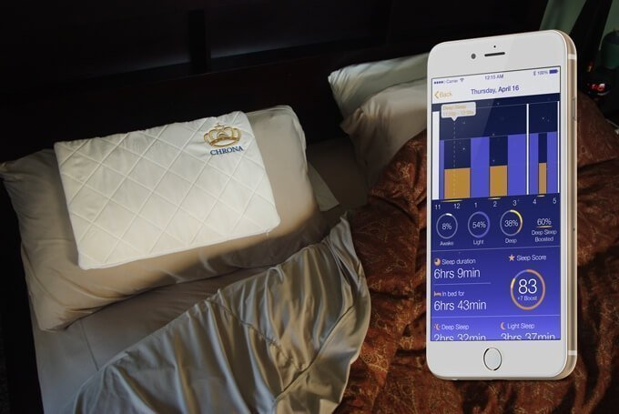 chrona smart pillow
