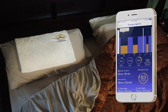 chrona smart pillow