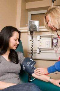 Sleep apnea and high blood pressure