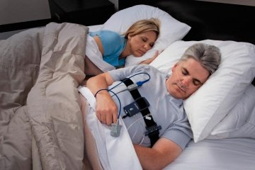 Testing sleep apnea at home