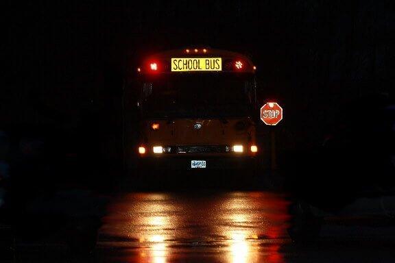 Start School Later - early school bus