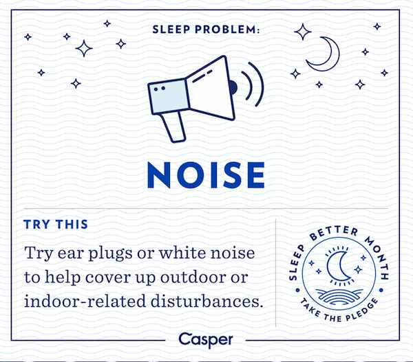 Sleep and noise - Casper