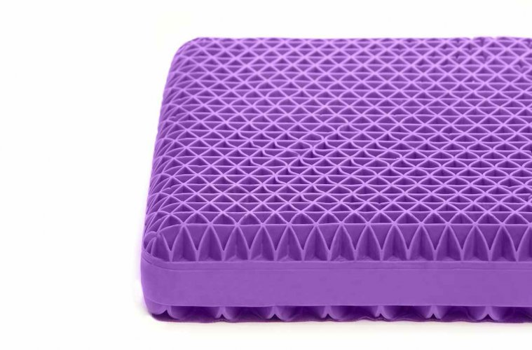 Purple pillow Kickstarter