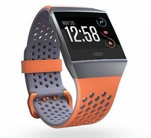 fitbit ionic sleep tracking smart watch