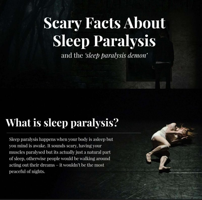 The nightmare of sleep paralysis demons, witches and ghouls | Sleep