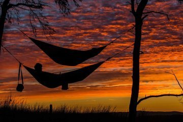Sleeping outdoors is good for your health