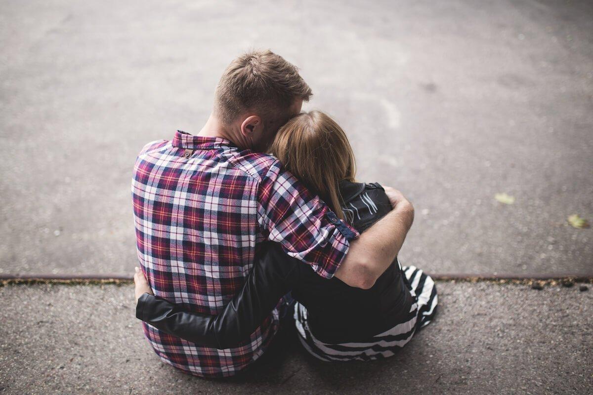 Night hugs sleep oxytocin