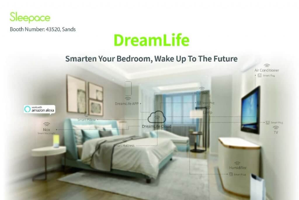 Sleepace Dreamlife Modular IoT Smart Bedroom