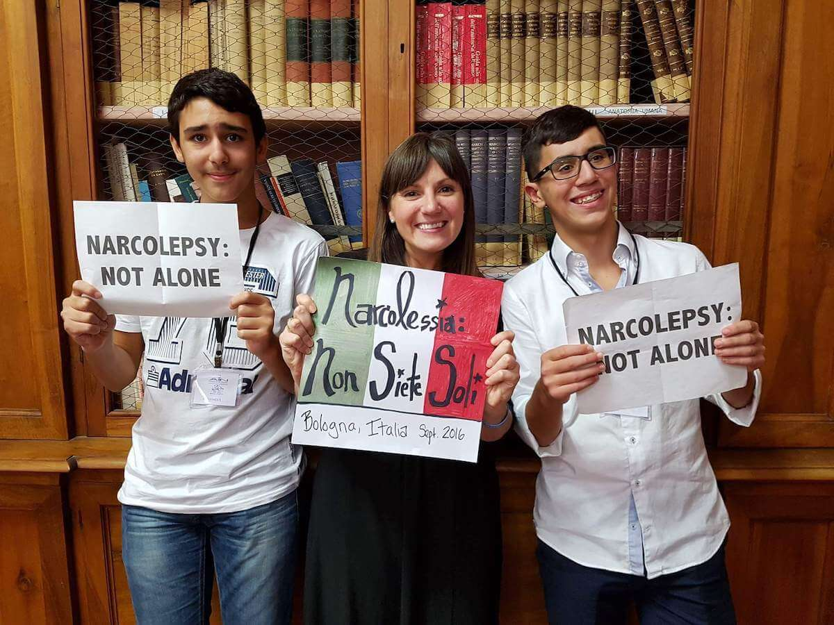 Narcolepsy not alone campaign