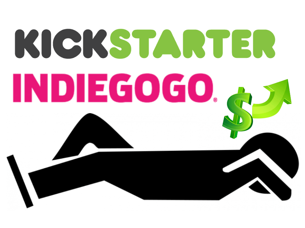 Kickstarter Indiegogo million dollar sleep products