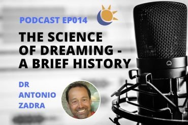History of dream research podcast Dr Antonio Zadra