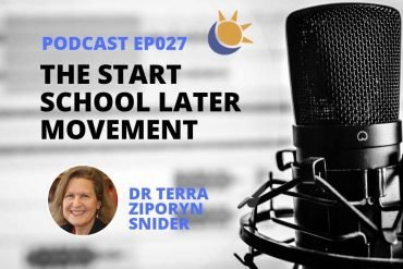 Terra Snider Start School Later Podcast Header