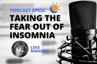 Lois Marharg Sleep Junkies Podcast_
